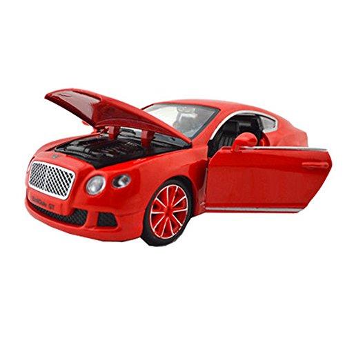 Alliage voiture Jouets Mini Modèles Kid rouges (15 * 6 * 4cm)