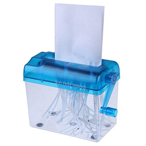 Hand Shredder 1 Pc Hand Operated Mini Paper Shredder For Home & Office