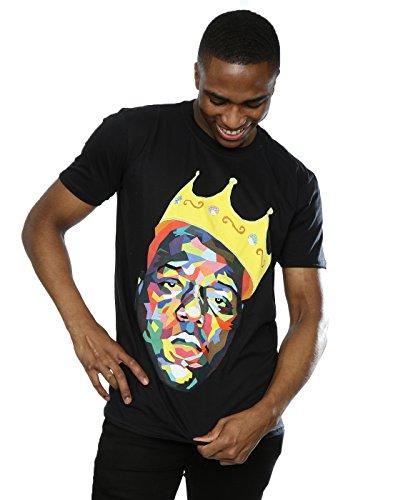 Notorious BIG Homme Biggie Crown T-Shirt X-Large Noir