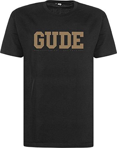GUDE Gold T-Shirt Schwarz