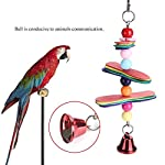 fdit pet bird parrot colorful beads bell toys chewing climb toy swing cage accessory decor pendant Fdit Pet Bird Parrot Colorful Beads Bell Toys Chewing Climb Toy Swing Cage Accessory Decor Pendant 41 2BffYS 2BOOL