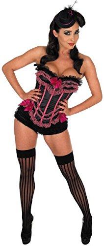 Pariser baskischen Ladies Burlesque - Adult Kostüm (Pariser Kostüm Party)
