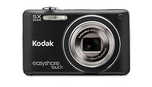 Kodak EasyShare Touch M5370 Digital Camera - Black (16MP, 5x Wide Schneider-Kreuznach Optical Zoom) 3 inch Touchscreen