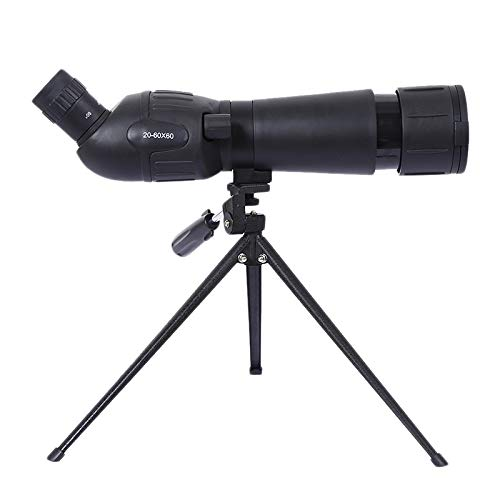 ZUZEN Monocular Telescope Small Viewing Mirror Kleinansicht Zielfernrohr High Power Low Light Night Vision Black Black Night Light