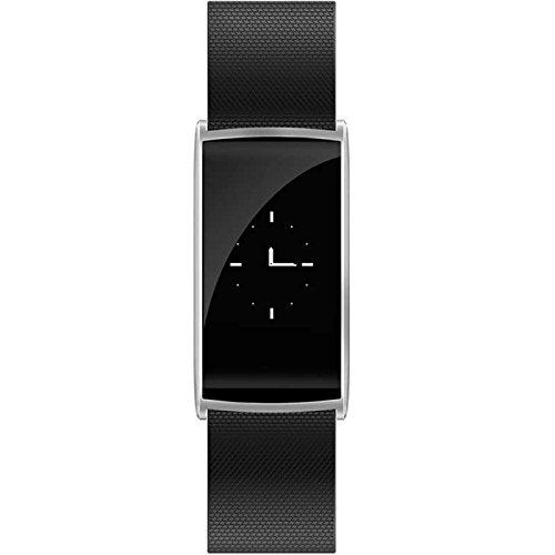 Fitness Armband Smartwatch mit Pulsmesser Armband,herzfrequenz Step Tracker Kalorienzähler aktivitätstracker Schrittzähler Uhr SMS Anrufe Smart uhr,für Smartphones mit Android System/Samsung/Sony/LG/Huawei