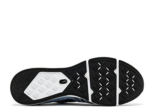 Nike Unisex-Erwachsene Flyknit Trainer Gymnastikschuhe cirrus blue, black-white