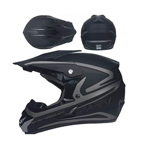 OLEEKA Herren Integralhelm Moto Riding zum Schutz der Augen und des Gesichts. Zahlreiche Styles zur Auswahl, cool und gut aussehend