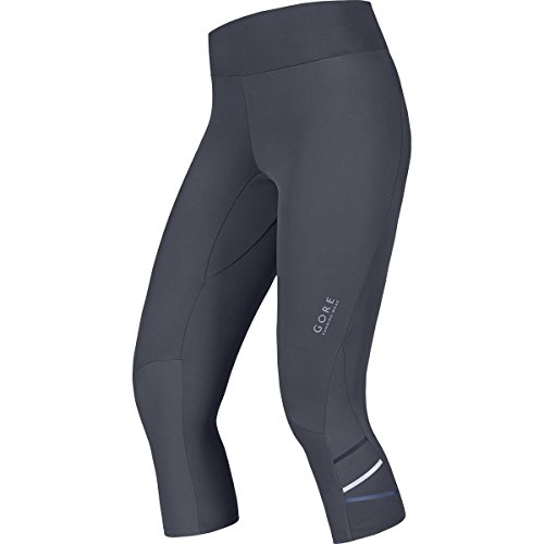 Gore Running Wear Mythos - Malla pirata para mujer, color gris, talla XL