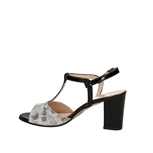 GRACE SHOES E7822 Sandalo tacco Donna Marrone