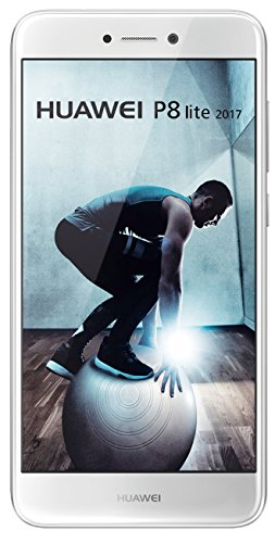 """Huawei P8 Lite - Smartphone libre de 5.2"""" IPS LCD (3 GB RAM, 16 GB, cámara 12 MP, Android 7.0), Versión 2017, color blanco (Reacondicionado Certificado)"""