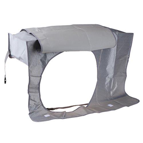 MagiDeal Outdoor Klimaanlage Abdeckung Cover Anti-Staub Wasserdicht Reinigung Schutz - #4 Dunkel...