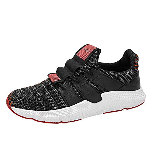 Schuhe, Resplend Männer Turnschuhe Sportschuhe Sticken Schnürschuhe Laufschuhe Atmungsaktiv Bequem Sneaker Outdoorschuhe