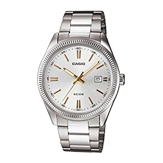 Casio Enticer Analog Silver Dial Men's Watch – MTP-1302D-7A2VDF (A488)