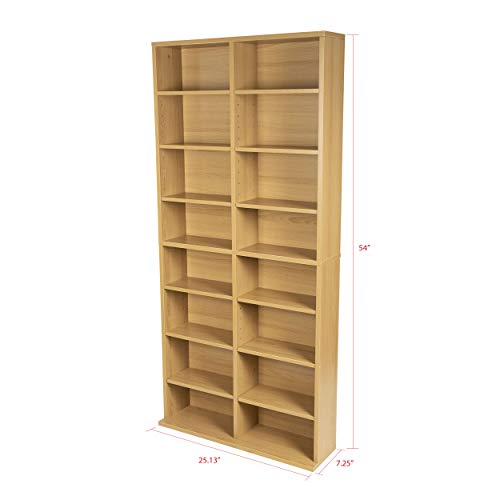 Atlantic Oskar Medizinschrank, verstellbar Furniture Maple -