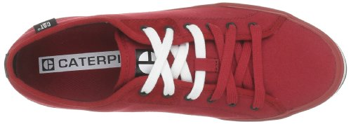 Caterpillar Solid Canvas, Baskets mode homme Rouge (Regal Red Canvas)