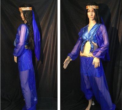 Suleika, Bauchtänzerin, Indisch, Frauenkostüm, Karneval, Fastnacht (Indische Kostümen Prinz)