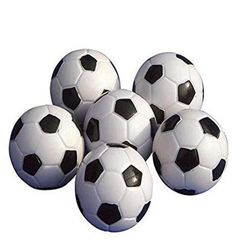 Ndier Mesa Soccer Foosballs Reemplazo Mini plástico