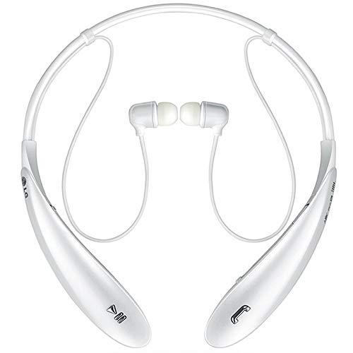 NICOLAS Drahtlose Kopfhörer Bluetooth Mit Mikrofon Sport Headset Ersatz Für Kopfhörer Drahtlose Kopfhörer, Bluetooth-Kopfhörer Und -Kopfhörer, Bluetooth-Headset Mit Mikrofon (Color : White)