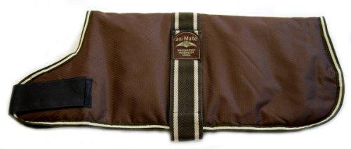 """Brown Padded Waterproof Dog Coat 35.5cm (14"""") 1"""
