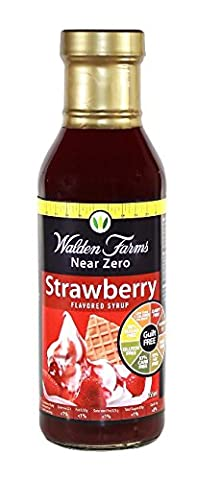 Walden Farms Strawberry Syrup, 1er Pack (1 x 355 ml)