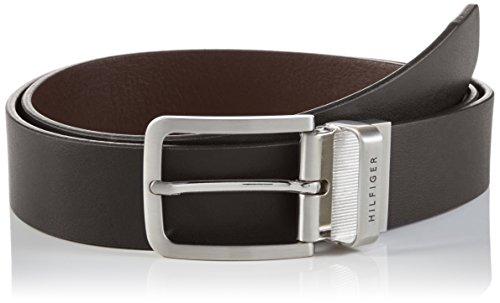 Tommy Hilfiger Reversible Belt, Cintura Uomo, Multicolore (Testa di Moro / Brown 966), 100 (Taglia Produttore:100)