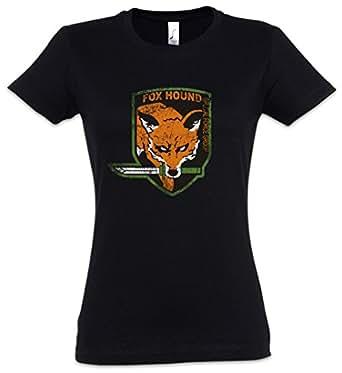 Foxhound Logo Damen Girlie T-Shirt - Symbol Insignia Big