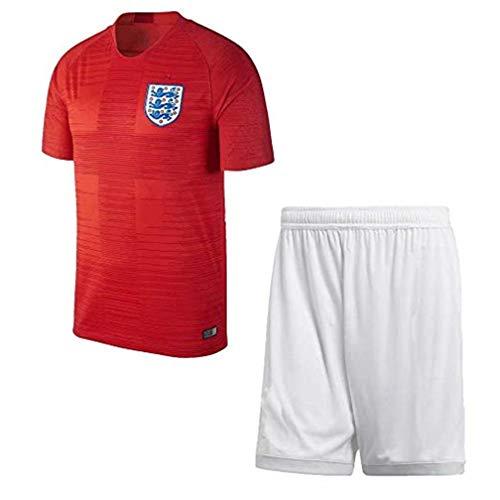 Valentina Landon Personalisierte benutzerdefinierte Fußball-Uniformen Team Trikots Fußball-Uniformen Benutzerdefinierten Namen und Nummer(England Away,10-11 Years old/145-155cm -
