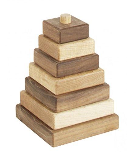 torre-de-construzione-legno-di-acer-e-noce
