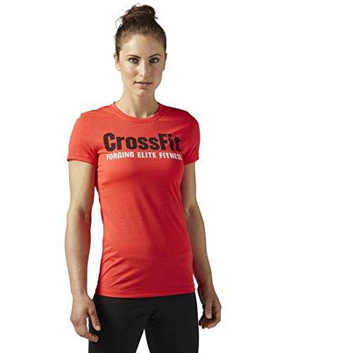 Reebok FEF Speedwick T-Shirt, Damen M rot (glwred) (Reebok Shirt Rot)
