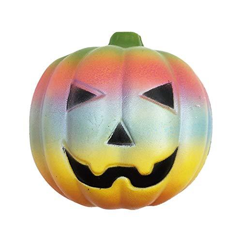 ntes Kürbisspielzeugentlüftungskugel-Simulationsbrot verlangsamen Rebound, Halloween-Geschenkpartydekorationen ()