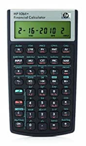 HP 10 BII + Taschenrechner