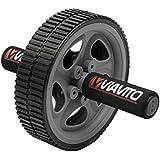 Viavito Ab Exercise Wheel - Black/Grey