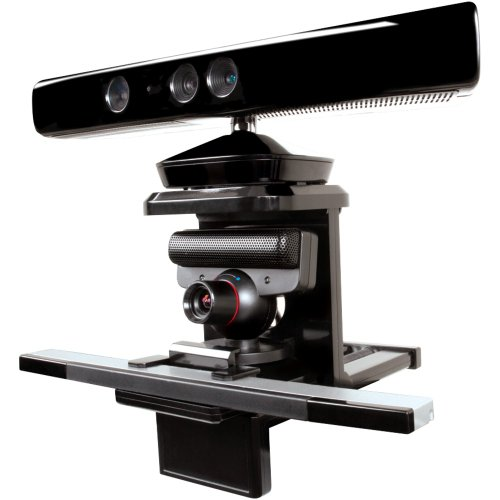 DREAMGEAR DGUN-2534 XBOX KINECT(TM)/PLAYSTATION(R)MOVE/NINTENDO WII(R) TRI-MOUNT -
