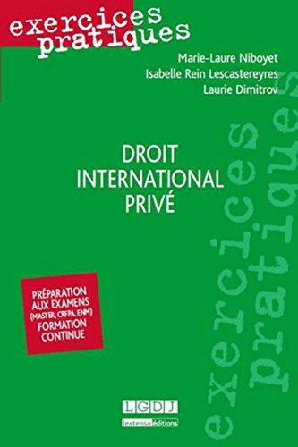 Exercices pratiques - Droit international priv