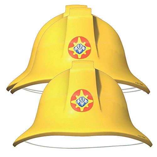 Feuerwehrmann Sam - Party Geburtstag Hüte (8 (Hüte Feuerwehrmann)