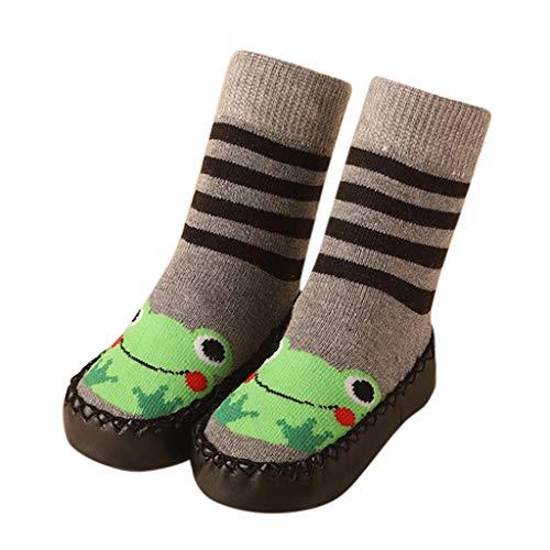 YWLINK Kleinkind-Baby-MäDchen Cartoon Ostern Tuch Socken Herbst Junge Kleinkindsocken Rutschfeste Bodensocken Socken Anti-Rutsch