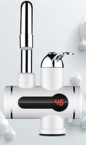Elektrischer Warmwasser-Heizungs-Hahn-KüChe-Heizung-KüChe-Heizungs-Hahn-Wasser-Hahn Mit LED-Digital-Anzeige , 39CM-7W - 3