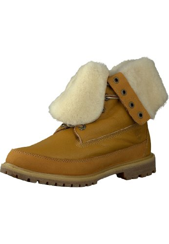 "Timberland Stivali da donna - Earthkeepers authentic shearling 8"" Giallo"