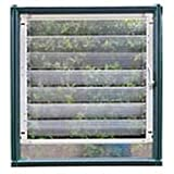 RION Lamellenfenster Lamellenöffner seitlich passend für alle Modelle // Gewächshaus Lamellenöffner Lüftung