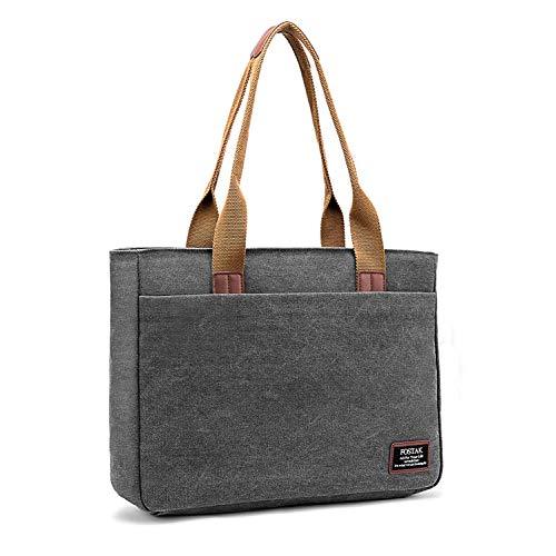 e7da6192a0ac3 DTBG Damen Laptop Tasche Umhängetasche Reisetasche stilvoll Shopper tragbar  Frauen Tasche Arbeitstasche   15