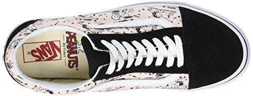 Arachidi In Furgoni Femme Multicolore Chaussures Old Pearl arachidi Schiaffo Skool Esecuzione De 41qA8W4U