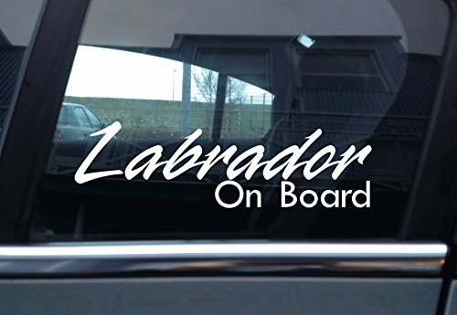 Turnerco Labrador On Board Hund, Auto Vinyl Aufkleber