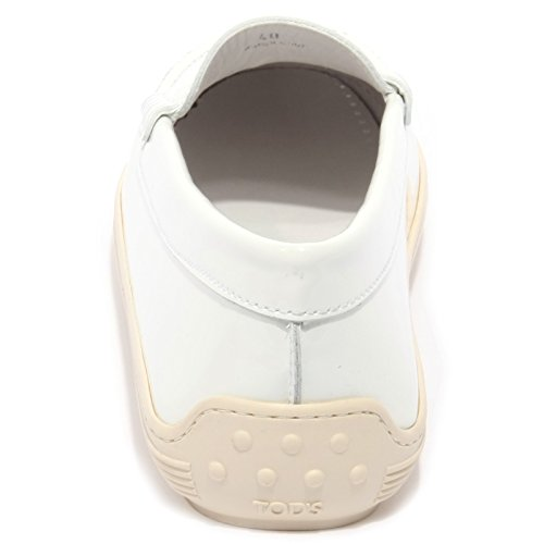 B1641 mocassino donna TOD'S MARLIN scarpa bianco loafer shoe woman Bianco