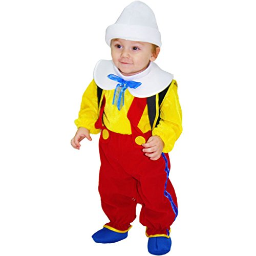 Kostüm von Pinocchio 62 (Mädchen Für Kostüm Pinocchio)