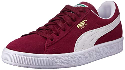 Puma - Suede Classic+ - Baskets mode - Mixte Adulte - Rouge (cabernet-white) - 43 EU