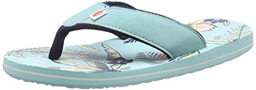 Animal Swish Aop, Infradito donna Blu Blue (Peppermint Blue) 35.5