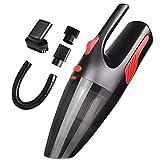 Aspirapolvere per auto con luce LED 12V 120W 5000PA Bagnato e Asciutto Aspirabriciole Senza Fili portatile con Filtro HEPA Ideale per Casa e Auto, Borsa per il Trasporto