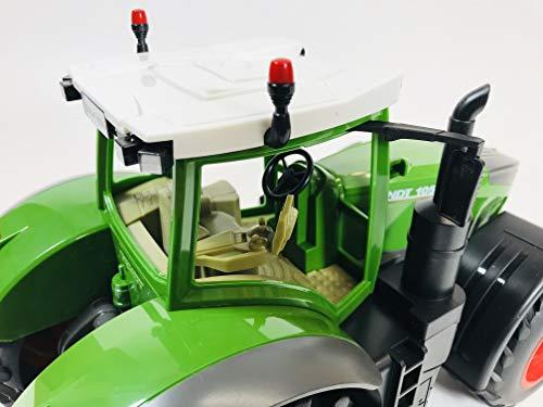 RC Auto kaufen Traktor Bild 2: BUSDUGA RC Ferngesteuerter Traktor FENDT 1050 Vario 1:16 - 2,4Ghz, inkl. Batterien - Sound - RTR (Ready-to-Run) Sofort Spielbereit - Lizenz NACHBAU*
