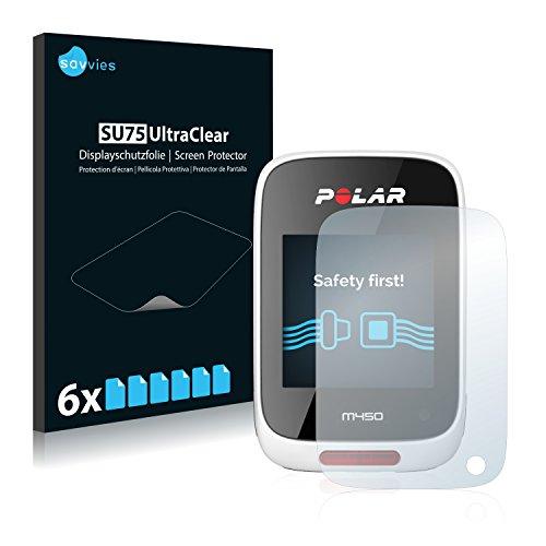 6x-savvies-pellicola-protettiva-per-polar-m450-protezione-proteggi-schermo-trasparente