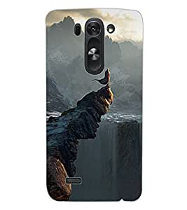 ColourCraft Beautiful View Design Back Case Cover for LG D722 K
